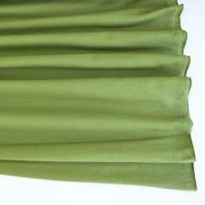 Stretch/Knit Fabric Avocado Premium Plain French Terry HALF METRE