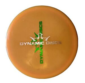 Dynamic Discs Lucid Justice 174g Orange double stamp misprint used no ink