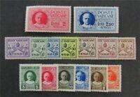 nystamps Italy Vatican City Stamp # 1//E2 Mint OG H $75