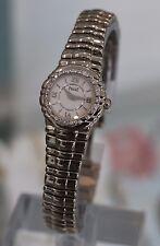 PIAGET --- Tanagra 18K White Gold Ladies Watch Diamond Bezel