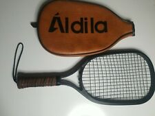 Vintage '70s-'80s Aldila Pistol Racket Racquetball With Leather Case G1
