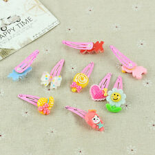 20pcs Mix Design Hair Clips Snaps Hairpins Ribobn Bow For Girls Kids Baby Infant