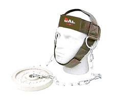 BAL NEW GYM WEIGHT LIFTING HEAD NECK STRENGTH HARNESS STRAP