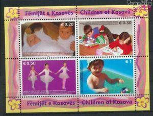 kosovo Block2y (complete issue) floureszierendes Paper unmounted mint  (9476169