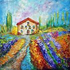 With Love from Italy Spring Flowers Original Modern Impasto Oil Painting
