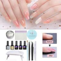 Acrylic Extension Kit Ongles Extension en fibre de verre pour ongles Les ongles