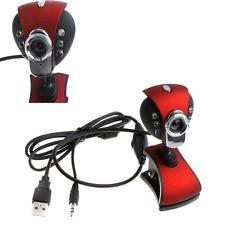 USB 50.0 Mega 6 LED HD Webcam Camera w/MIC for Computer PC Laptop Hot Веб-камера