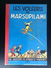 ALBUM REFAIT Les voleurs de Marsupilami Spirou Avec cahier original de 1954