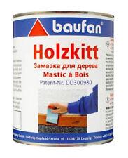 Baufan Holzkitt 1kg Kitt wasserverdünnbare Füllmasse für Risse Löcher etc