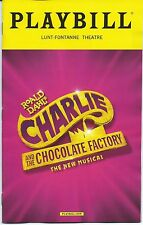 CHARLIE AND THE CHOCOLATE FACTORY Playbill OPENING NIGHT Christian Borle