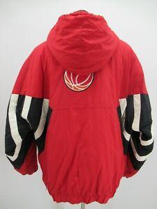 P4980 VTG Mitchell & Ness Men's Miami Heat Hood  Basketball-NBA Jacket Size 2XL