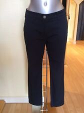"Betty Barclay Chino Trouser Size 10 BNWT Navy 27 1/2"" Inside Leg RRP £90 NOW £40"