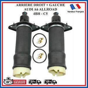 Amortisseur Pneumatique Arriere Droit + Gauche AUDI A6 Allroad de 2000 à 2005