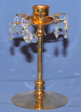 Flower Shape Ornate Brass Candlestick