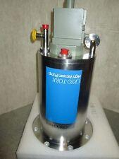 "CTI cryotorr 8 cryopump 6"" ASA, REBUILT and tested"