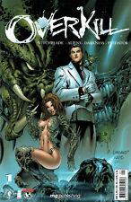COMIC Pack Overkill 1-6 Witchblade alieno Darkness Predator tedesco Z 1-2