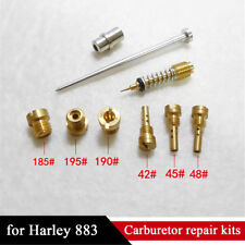Motorcycle Carburetor Repair Kit Main Jet + Pilot Jet For Harley-883 (CV Type)