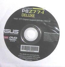 Original carte mère Asus pilote CD DVD Deluxe p8z77-i win xp 7 8 windows NEUF NEW