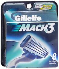 Gillette MACH3 Cartridges 8 Each