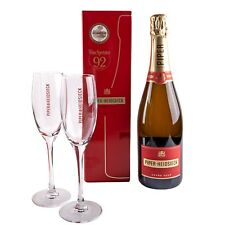 Piper Heidsieck Cuvée Brut Champagne 0,75 L dans emballage cadeau + 2 verres verre