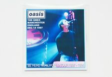 Oasis : Be Here Now Tour live GMEX 1997