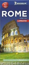 ROME STREET MAP - NEW - CITY MAP - MICHELIN - 2016 -  LAMINATED