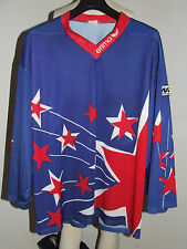 MAGLIA SHIRT TRIKOT ICE HOCKEY GHIACCIO MATCH WORN EV GERMERING n°16