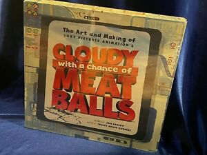 The Art and Making of Cloudy with a Chance of Meatballs hardcover, new, sealed