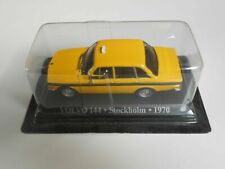 modellino da collezione TAXI COLLECTION 1/43 VOLVO 144 TAXI STOCKHOLM 1970