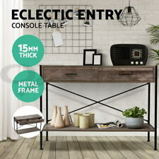 Artiss Wooden Hallway Console Table Entry Side Table Display Desk Industrial