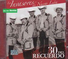 Los Invasores de Nuevo Leon 30 Del Recuerdo 2CD New Nuevo sealed