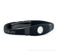Authentic Pur life Negative Ion Bracelet EXTREME Pro Black Gray Purlife BALANCE
