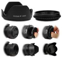 58mm Petal Flower Lens Hood Screw Mount Universal For Canon Nikon Pentax