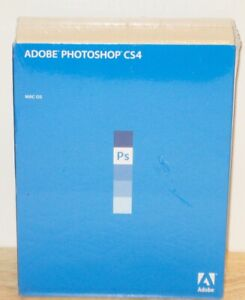 Adobe Photoshop CS4 Mac OS NEW Sealed Retail Box