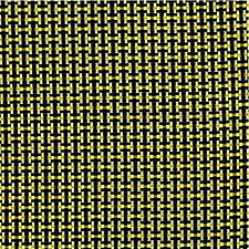 TESSUTO ibrido fibra di KEVLAR ® / CARBONIO 170 g/m² PLAIN h 1200 - 5 mq