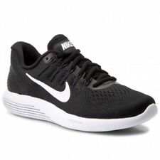 NIKE LUNARGLIDE 8 RUNNING SHOES BLACK MENS SIZE 9.5 NEW AA8676-001