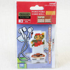 Super Mario Bros. Puni Puni Cord Roll for Nintendo 3DS JAPAN GAME FAMICOM