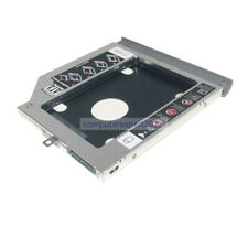 panel 2nd HDD SSD Disco Caddie para Lenovo ideapad 320 330 520 con bisel gris