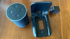Amazon Echo Plus (2nd Gen) Smart Speaker - Charcoal w/Outlet Stand