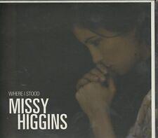 Missy Higgins - Where I Stood cd digipak
