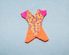 DANCE! Hot Pink Orange Yellow Leotard Warm Up Work Out Geuine BARBIE Outfit