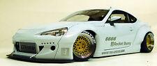 Autoart 1/18 Rocket Bunny Toyota 86 Metallic White Gold Wheels 78756 COMPOSITE