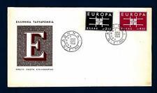 GREECE - GRECIA - 1963 - Europa - Disegno geometrico con le iniziali CEPT - (B)