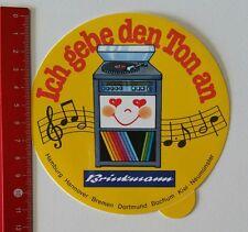Autocollant/sticker: Brinkmann-je donne le ton à (160217165)