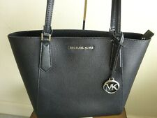 Michael Kors Kimberly Small bonded Pebbled Leather Solid Black Tote BNWT