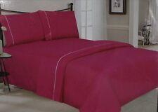 New Simple Elegance 221HOP Luxury Queen Sheet Set Wrinkle Free Pink Deep Pocket
