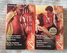 Harlequin Mills and Boon Blaze - 6 Books with 12 Great Stories
