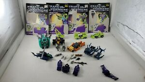 Vintage Mixed Lot Transformers g1 Made In Japan 11 Weapons 4 Cards 8 figures lot