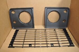 Front Grill & Headlight Surround Set for Land Rover Defender ALR8765PUC/MWC8464P