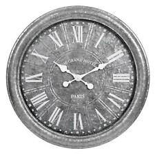 Jt Rose And; Co. 27 In Galvanized Wall Clock in White